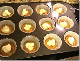 Muffins dollop