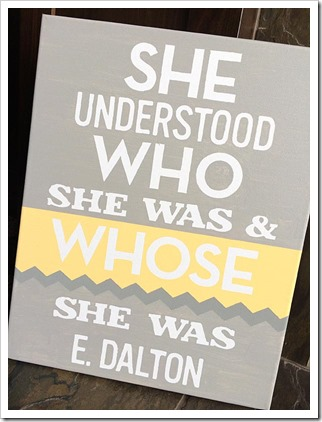 She Understood