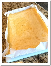 Lemon Bar Parchment