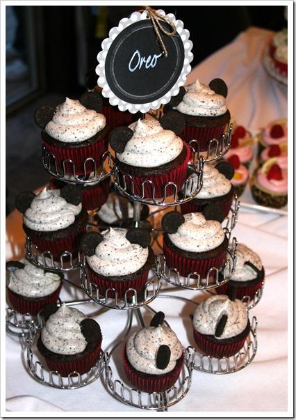Oreo Mickey CupcakesT