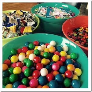 Easter eggs inside