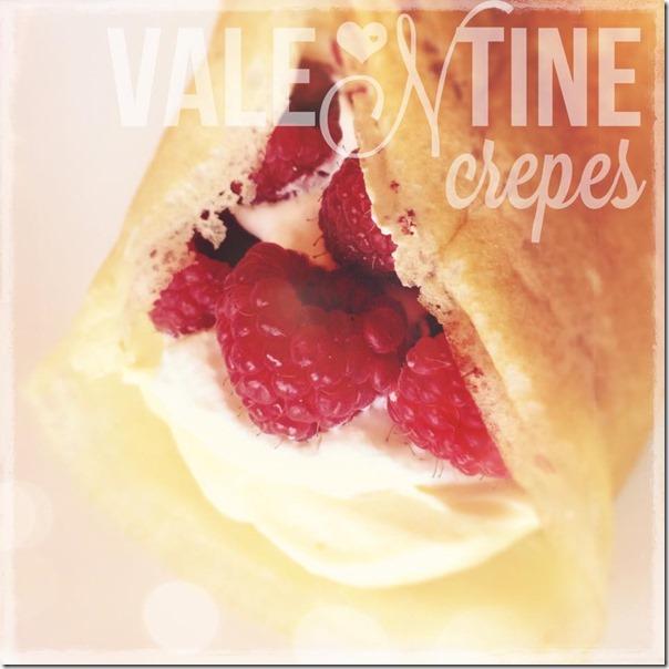 Valentine crepes