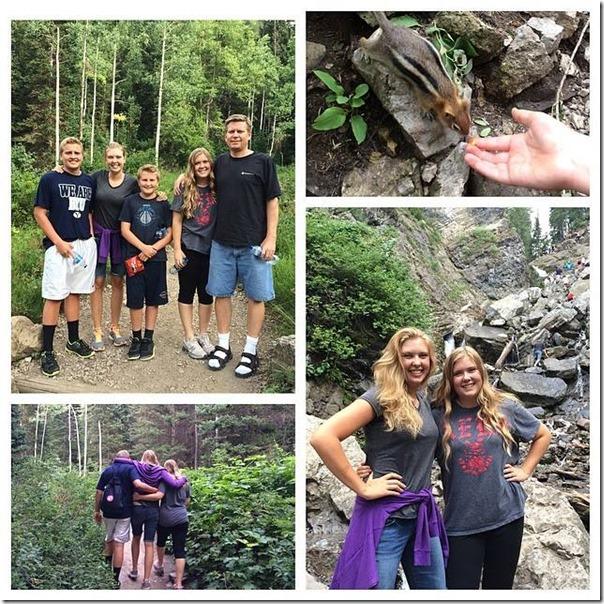 Donut falls hike