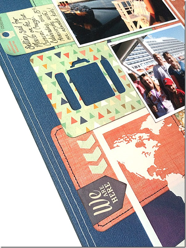 Travel Hello World Layout Collage detail