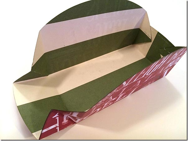 Cookie Holder Folds