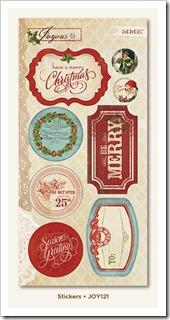 Joyous 6x12 sticker sheet
