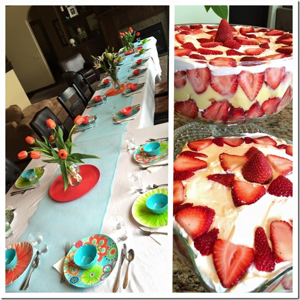 Easter dinner 2015