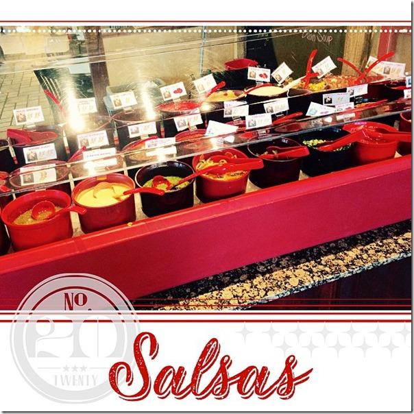 20 Salsas