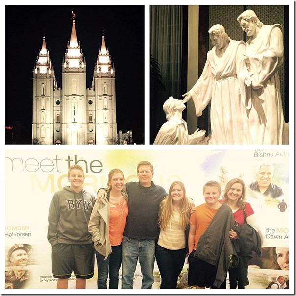 Christmas meet mormons