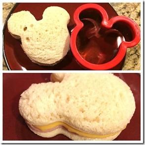 Mickey sandwich